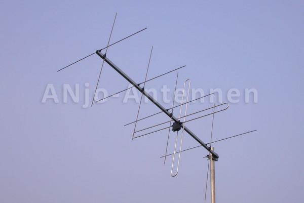 145 MHz 2x5 Element X-Yagi