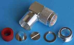 N Winkel-Adapter N(m)/N(w) (UG-27TA)