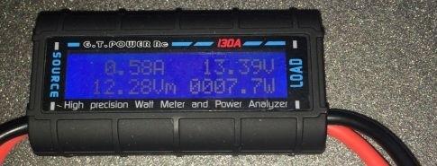 Difona DC Watt Meter