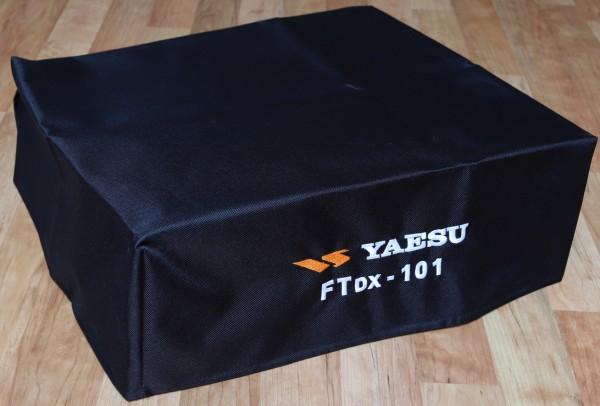 Staubschutzhaube textil bestickt, FTDX101