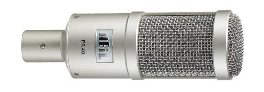 Heil PR-40C dynamisches Handmikrofon, chrom