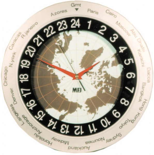MFJ 115 24 Stunden Wanduhr