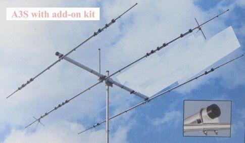 Zusatzelement Kit 7/10 MHz für A-3S