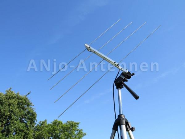 145 MHz + 435 MHz Duoband Antenne für Fotostativ