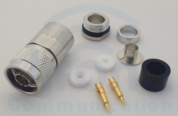 N Stecker 10 mm Kabel (N1011 TA)