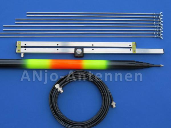 ANJO W2-70STV 2m + 70cm Duo Band Antenne Wander-Set
