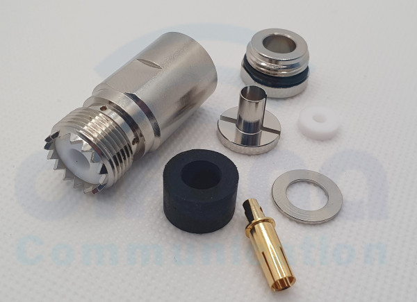 PL Kabelbuchse (PL22/7TG) für 7mm Kabel, H-2007,