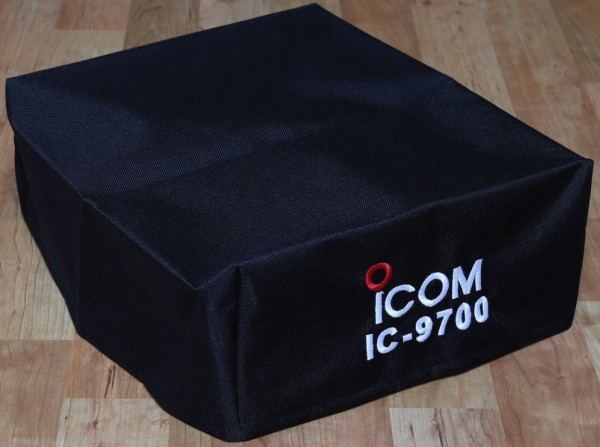 Staubschutzhaube textil bestickt, ICOM IC-9700