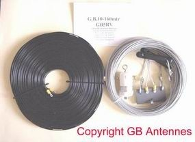 G.B. HF Antennes & Towers GB5RV 160-10