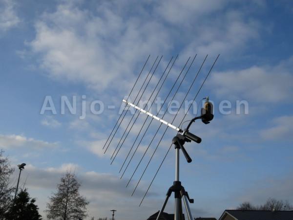 ANJO LP 2-70H - 2m + 70cm Duo Band Antenne mit Kombihalterung