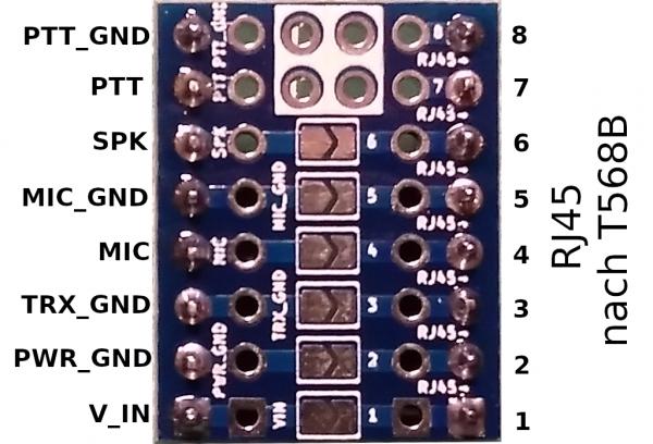 BT TRX Generic Jumper Board