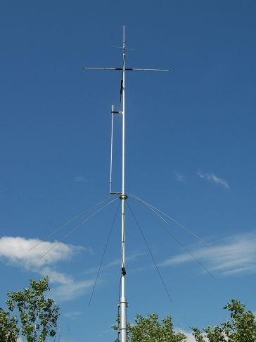 Vertical Antenne 20/17/15/12/10/6 m 250 W PEP
