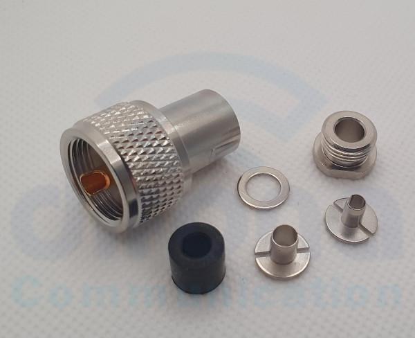 """PL-Stecker """"UHF-Spezial"""" RG-58 , H2005, RG223, RG"""