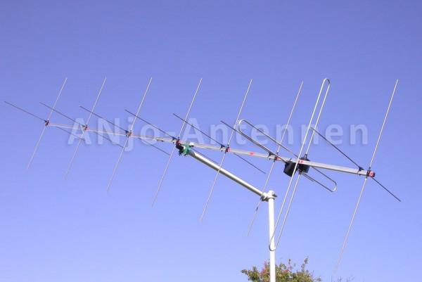 145 MHz 2x8 Element X-Yagi