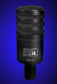 Pro-Serie High-Class Microphone PR-781, black