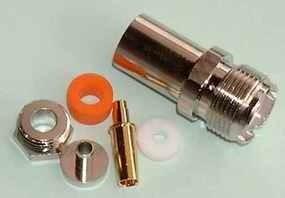 PL UHF Kabelbuchse für 5 mm Kabel (PL22/TG)