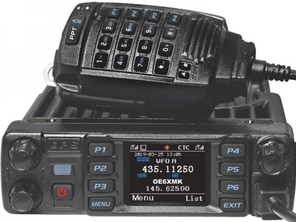 AnyTone D-578UVPRO mit GPS + Bluetooth