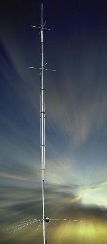 Vertical Antenne 40/30/20/17/15/12/10/6 m, 1,5 KW